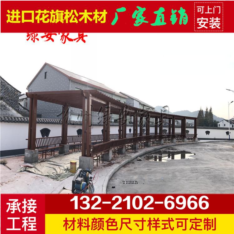分项工程公园浮桥 凉亭模板价格