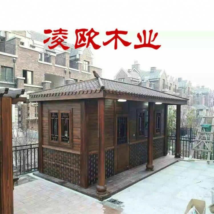 防腐木房子别墅凉亭价格是多少