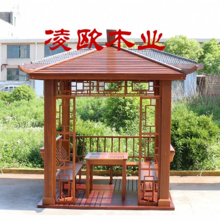 杭州六角凉亭