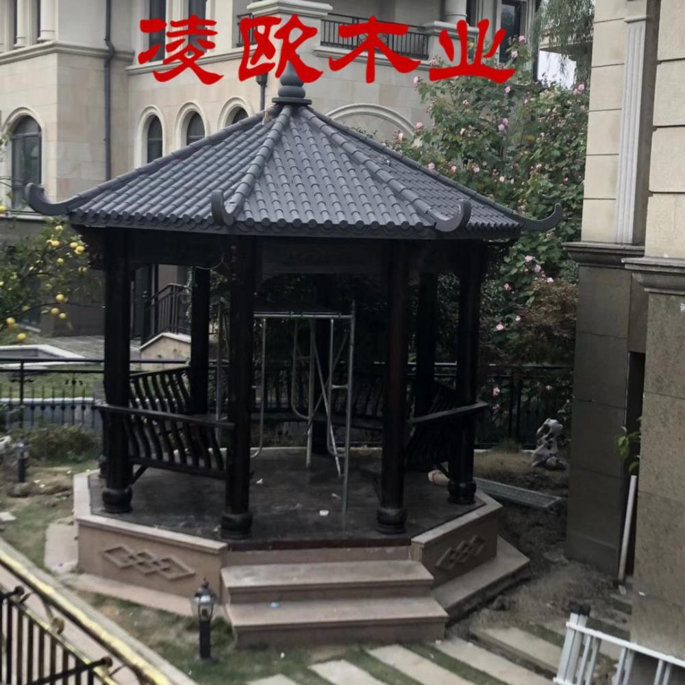 北京防腐木凉亭价格