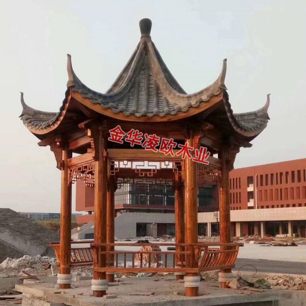 北京轻钢凉亭厂家