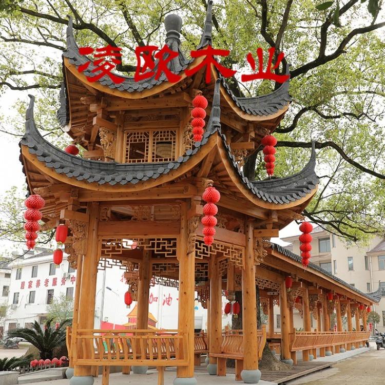 上海木屋凉亭价格