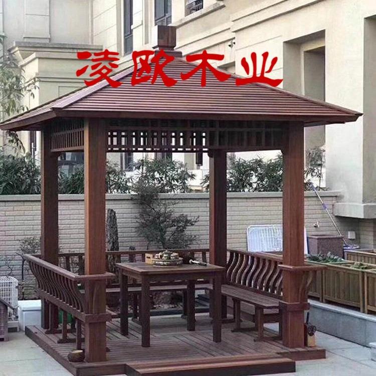 漳州凉亭防腐木价格