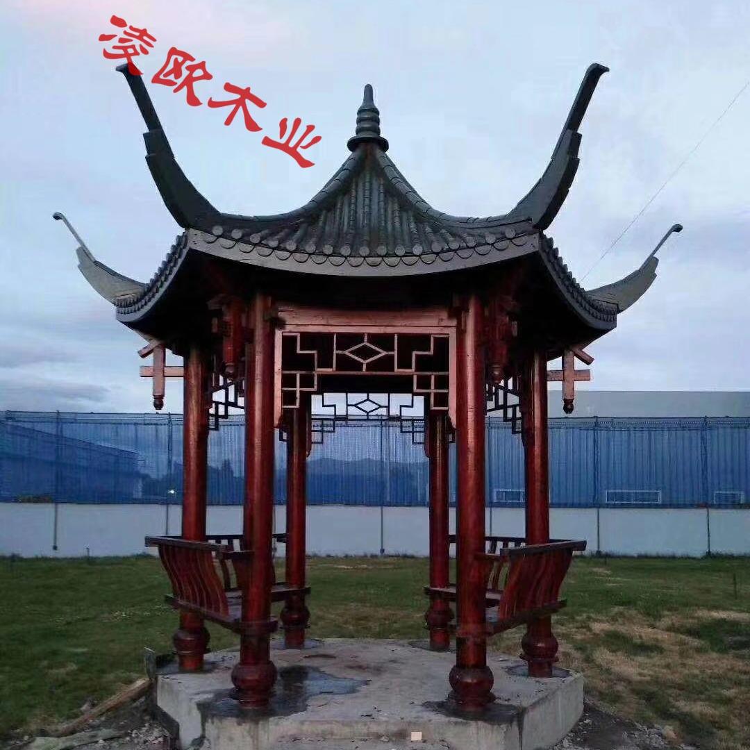 杭州四角凉亭