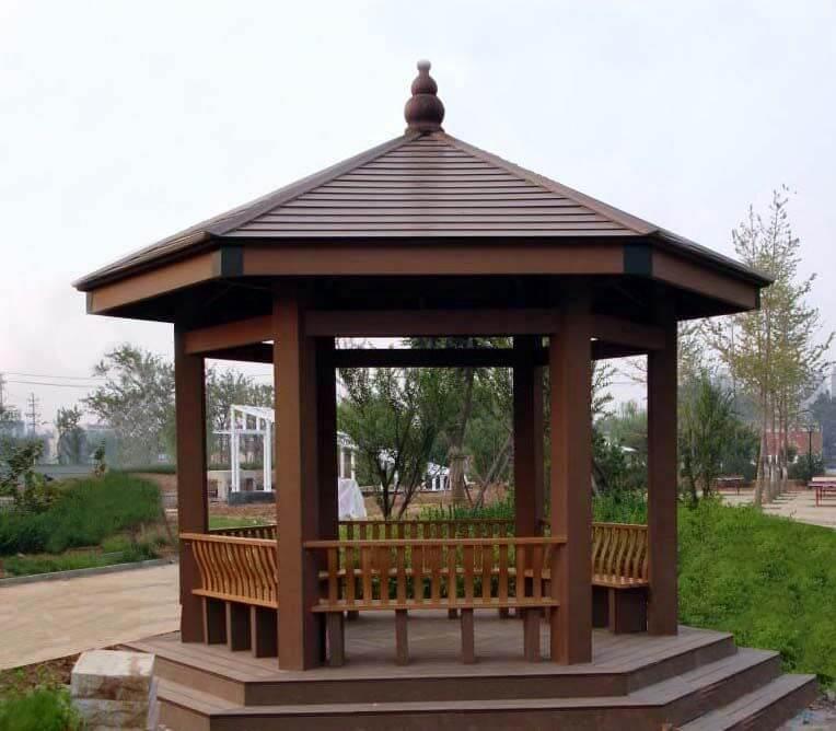 公园长廊椅子凉亭价格