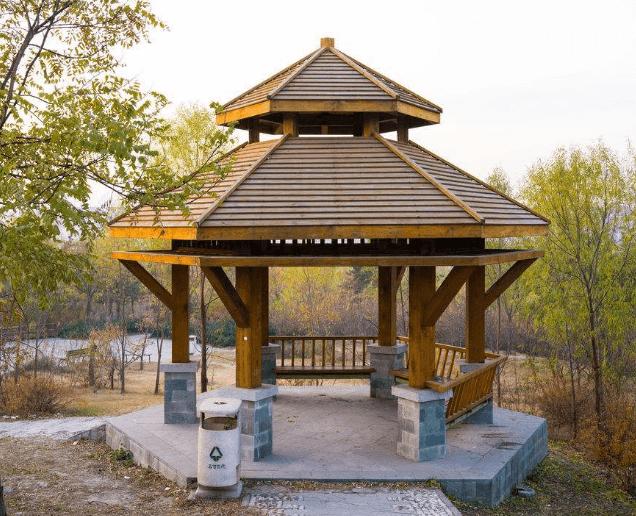 葫芦岛碳化木凉亭厂家