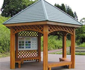 木制凉亭施工价格