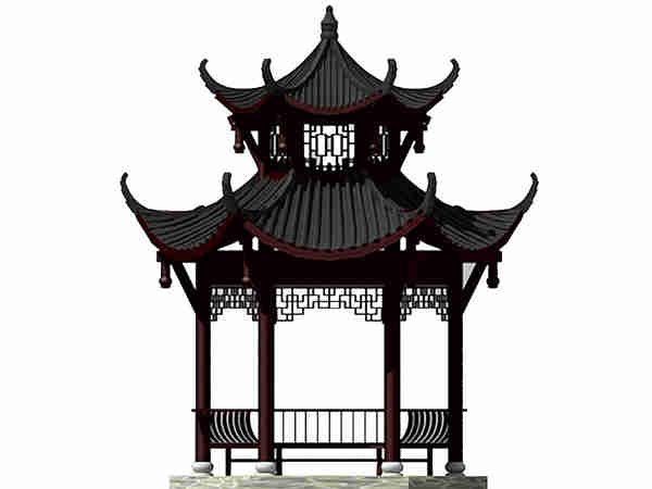 平谷石雕凉亭