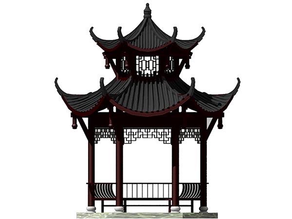 杭州仿古凉亭