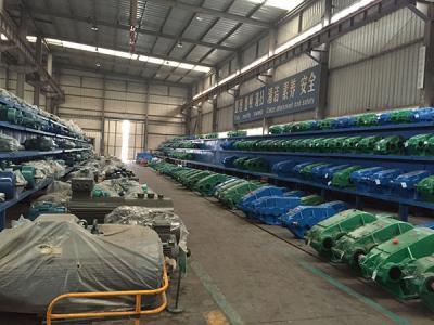 河南省长垣县的矿山起重机厂